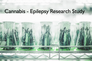 Cannabis - Epilepsy Research study